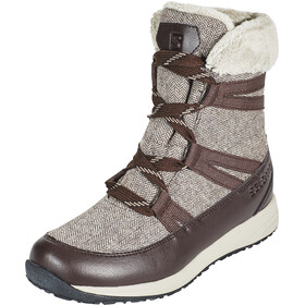 Salomon Heika CS WP Botas Invierno Mujer, black coffee/cinder/black